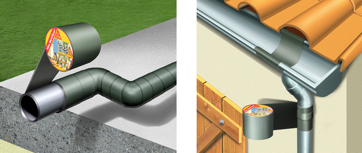 Repair Your Roof Fast Using Sika Multiseal Bt Tape Sika