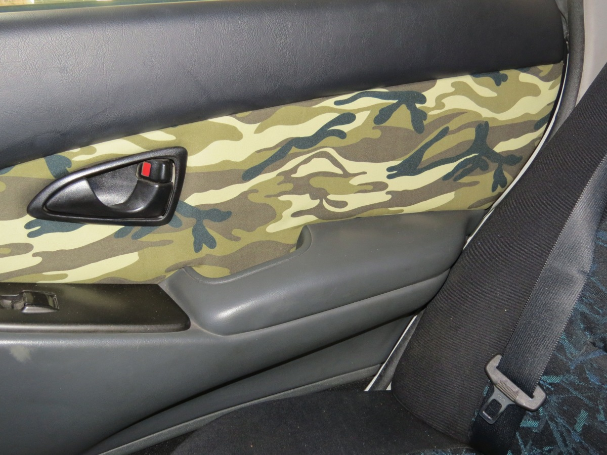 how to reupholster your car door interior sika for diy and home renovation. Black Bedroom Furniture Sets. Home Design Ideas
