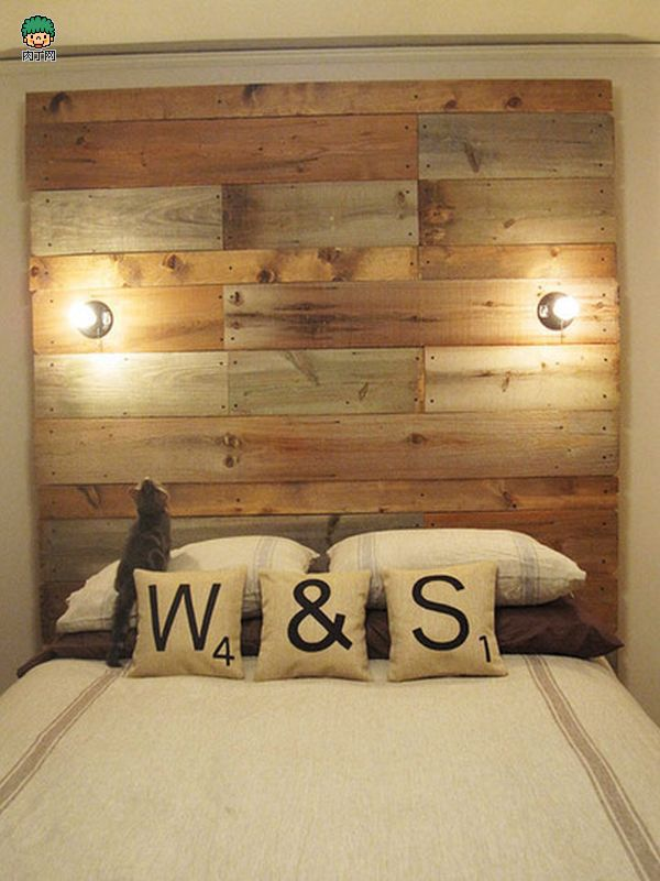 How to make pallet upcycle bedhead with sika supergrip