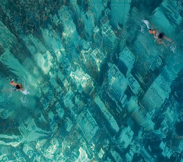 tag violin swimming pool